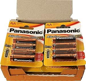 Panasonic POWER LR6 AA - Pack de 48 pilas alcalinas: Amazon.es: Electrónica