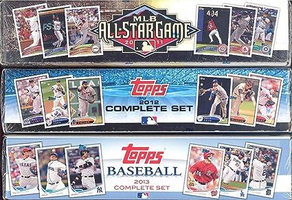 2010 2011 2012 2013 Topps Baseball Card Factory Sealed