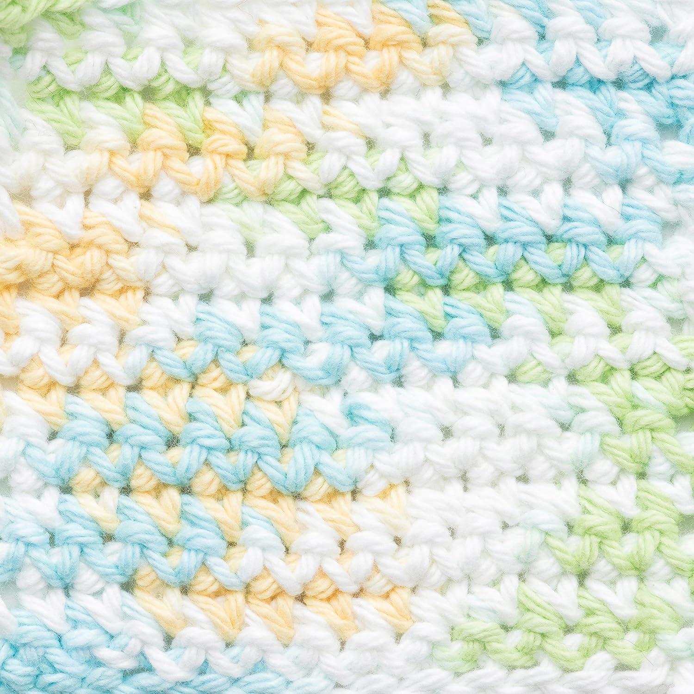 Bernat Handicrafter Cotton Yarn, Ombre, 12 Ounce, English Lavender, Single Ball Spinrite 16203333307