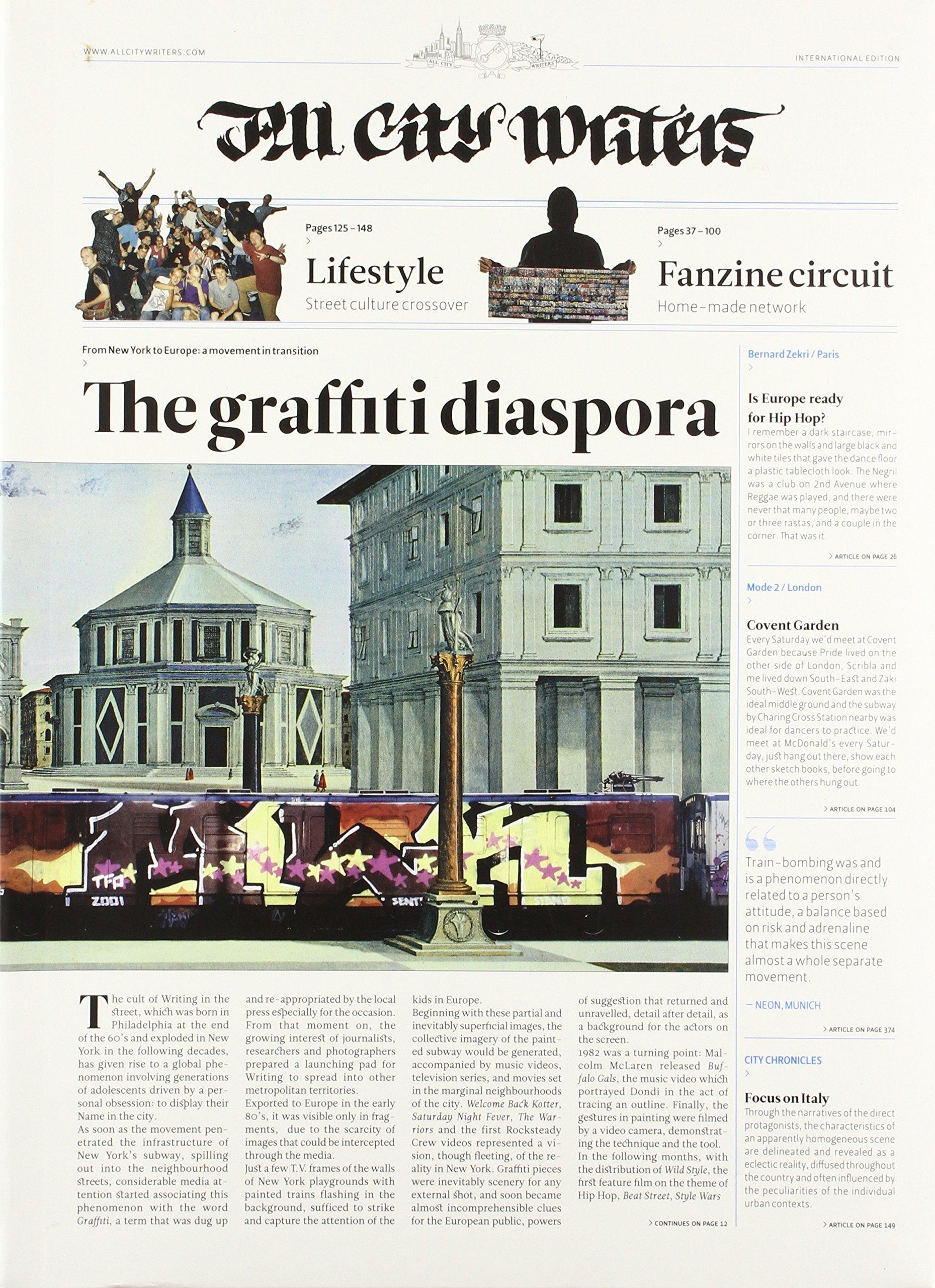 All City Writers The Graffiti Diaspora Amazon De Andrea Caputo