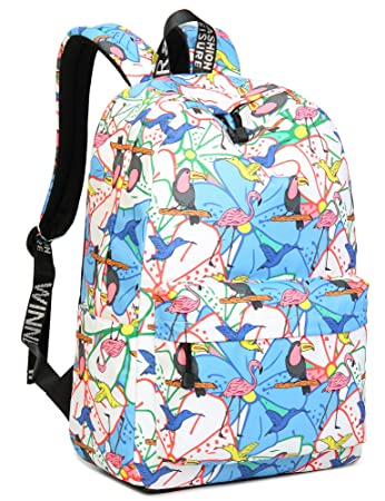 670e7e0480ca Amazon.com  Colorful Backpack for Girls