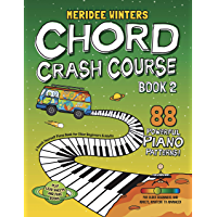 Meridee Winters Chord Crash Course Book 2: A Teach Yourself Piano Book for Older Beginners and Adults book cover