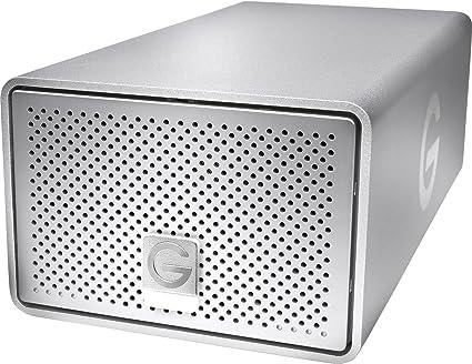 G-Technology G-Raid USB Caja de Disco Duro (HDD) Plata - Disco Duro en Red (Serial