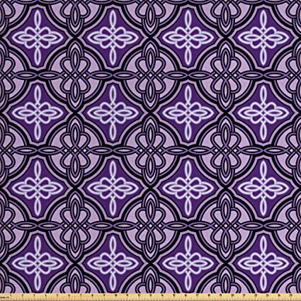 Amazoncom Ambesonne Celtic Fabric By The Yard Ethnic Unique