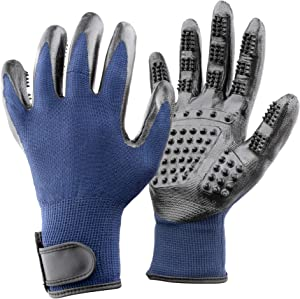 Elitthaus Pet Grooming Gloves – Five Finger Design – Great Hair Remover for Dogs Giveaway