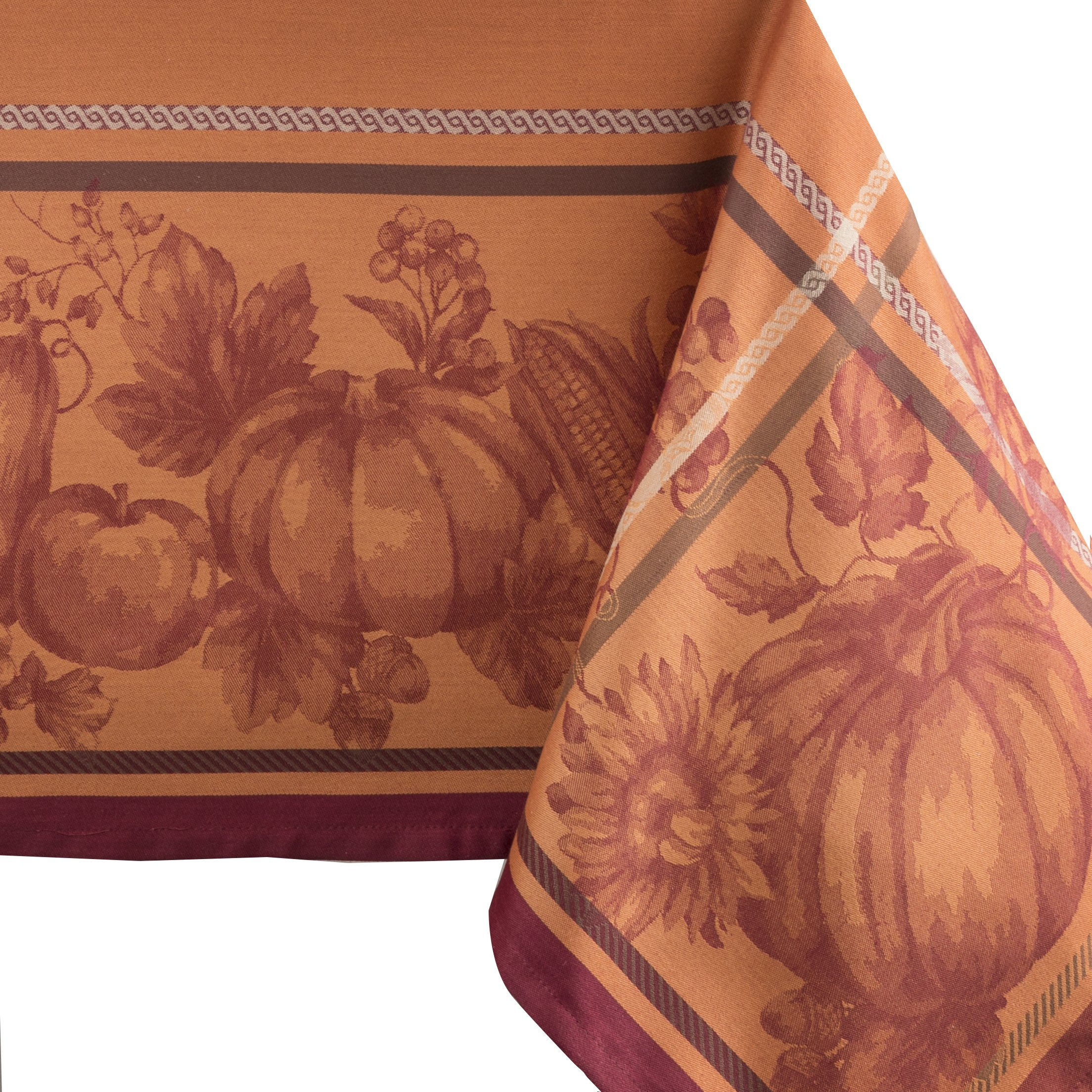 Benson Mills Harvest Royalty Engineered Yarn Dyed Jacquard Tablecloth, 60 by 84-Inch by Benson Mills