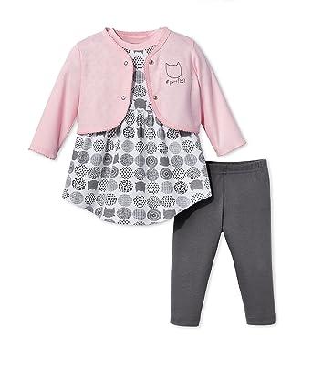 da02bc529 Amazon.com  Lamaze Baby Organic 3 Piece Dress Set
