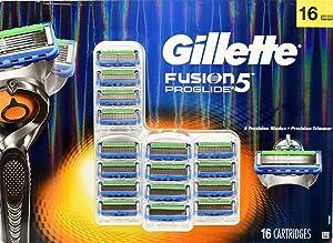 Gillette Fusion 5 ProGlide Precision Trimmer - Precision Trimmer + 5 Precision Blades +16 Cartridges
