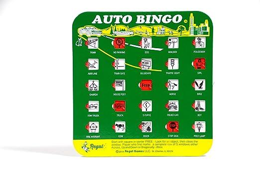 Amazon.com : Regal Games Original Travel Bingo 4 Packs : Bingo Cards ...