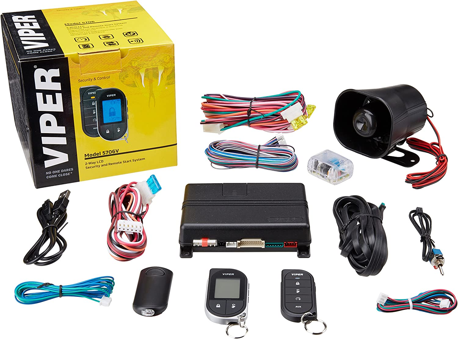 Viper 5706V 2-Way Car Security with Remote Start System on