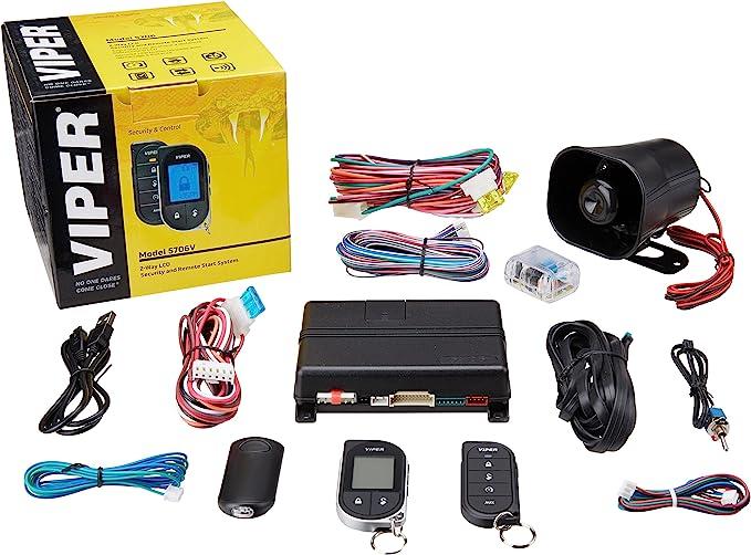 [ZHKZ_3066]  Amazon.com: Viper 5706V 2-Way Car Security with Remote Start System | Viper 5607v Wiring Diagram |  | Amazon.com