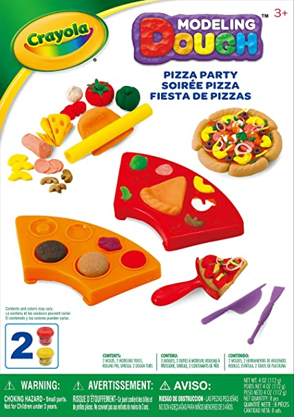 Crayola Pizza Party Kit Dough Playset