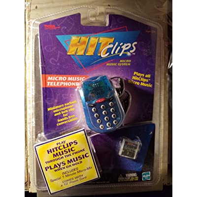 Tiger HIT Clips Micro Music Telephone: Toys & Games
