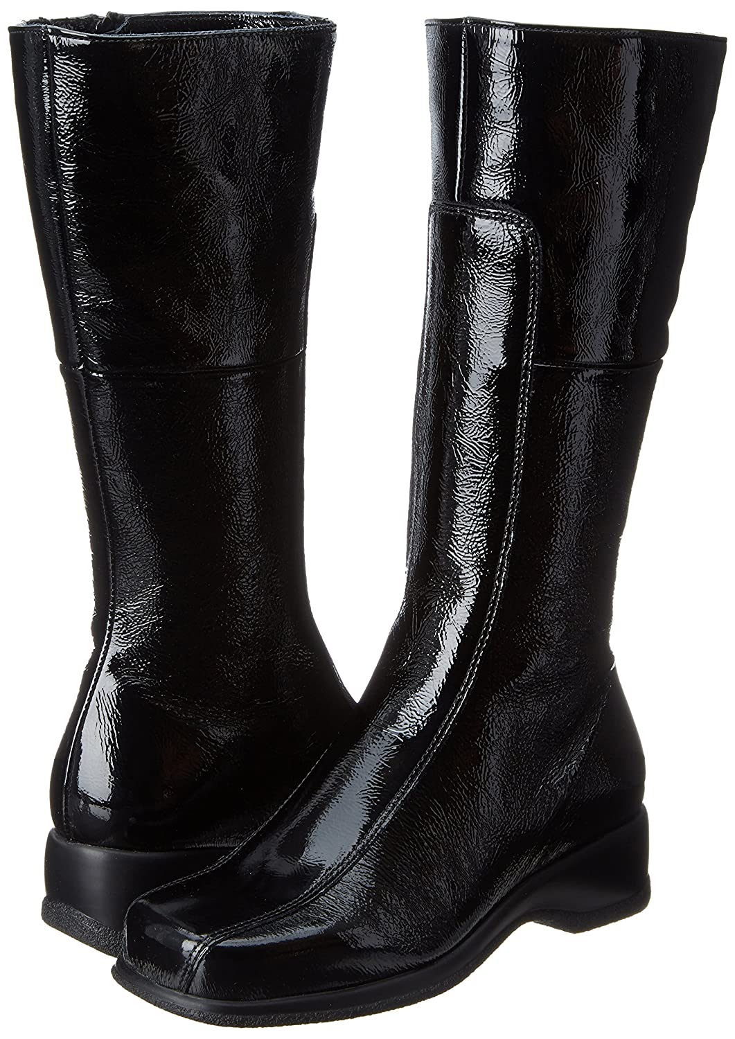 La Canadienne Women's Blanche Boot B004S8WMTW 10 W US|Black Patent