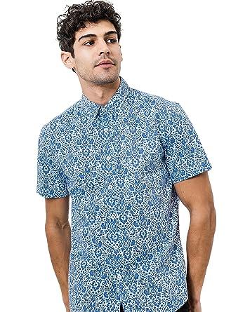 f345fb45 7 Diamonds Noble Heart Short Sleeve Shirt at Amazon Men's Clothing store: