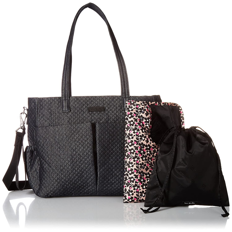 Amazon.com  Vera Bradley Iconic Ultimate Baby Bag c475ce7d9993f