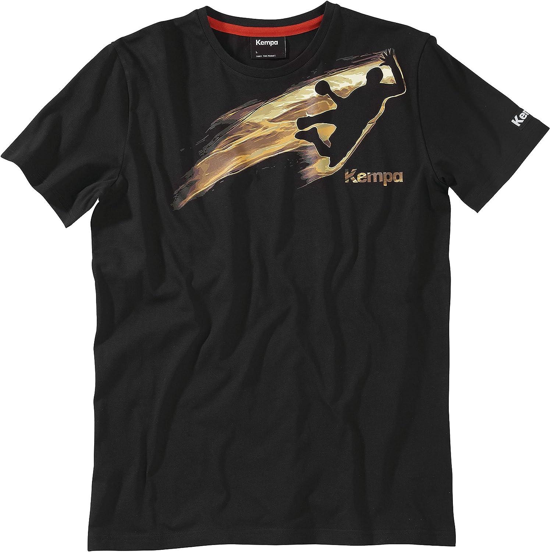 TALLA L. Kempa Bekleidung Teamsport on Fire Camiseta