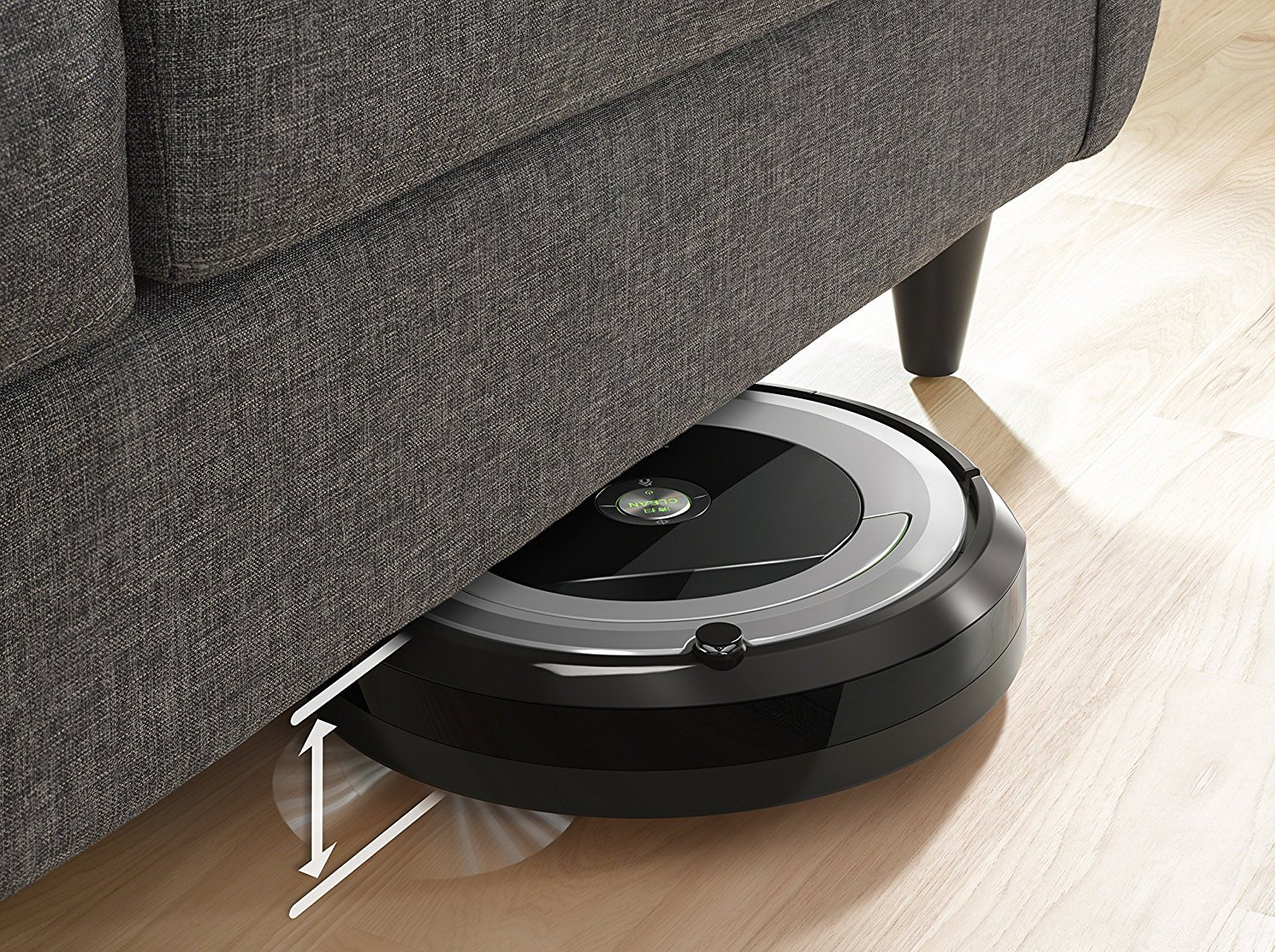 iRobot Roomba 690 Wi-Fi Connected Robotic Vacuum Cleaner + 1 Dual Mode Virtual Wall Barrier (With Batteries) + Extra Filter + More by iRobot (Image #6)