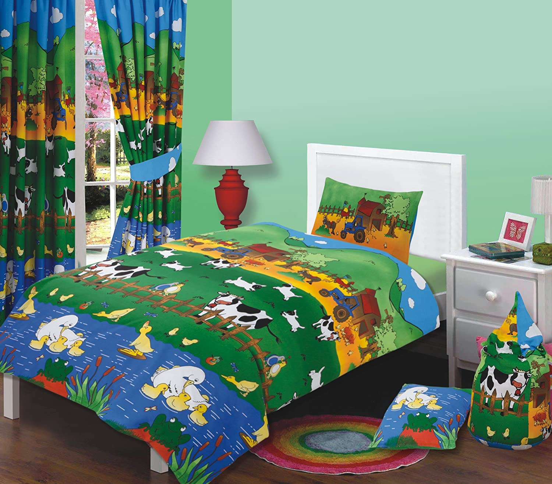 Well known Junior Bed Size Farmyard Friends Duvet Cover Set, Farm Animals  DP49