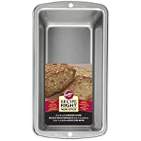"Wilton Recipe Right Medium Bread Loaf Baking Pan - 8 1/2"" x 4 1/2"""