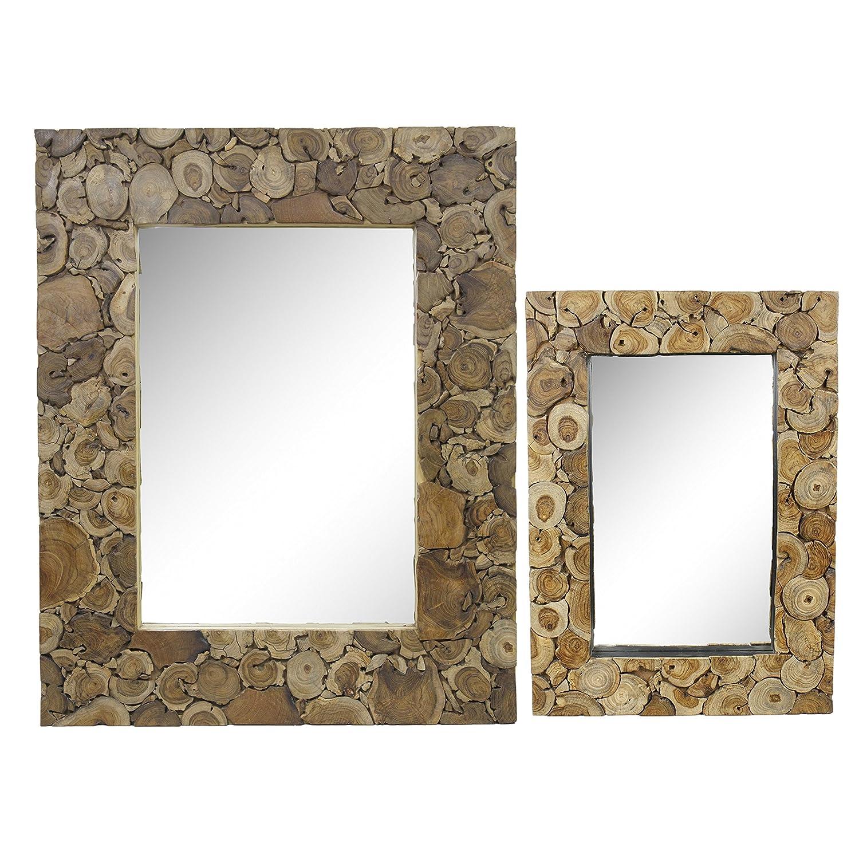 Spiegel Rahmen Antik Thailand Massiv Holzrahmen Mosaik Wandspiegel ...