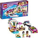LEGO UK 41316 Andrea's Speedboat Transporter Construction Toy
