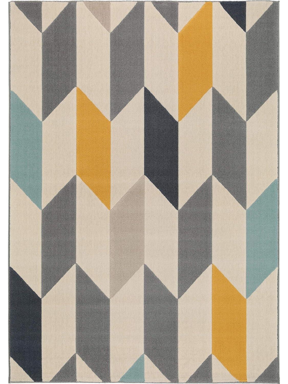 Benuta Teppich Dessert Multicolor 160x230 cm   Moderner Teppich für Wohn- und Schlafzimmer