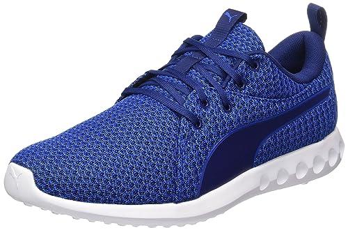 Puma Carson 2 Knit, Zapatillas De Deporte para Exterior para Hombre, Azul (Lapis Blue Depths), 42.5 EU: Amazon.es: Zapatos y complementos