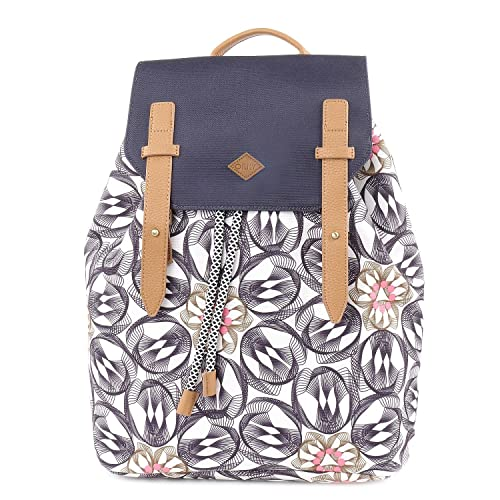 Oilily - Backpack, Mochilas Mujer, Grau (Charcoal), 15x40x31 cm (B