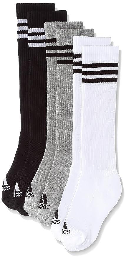 Details about adidas Originals Solid Knee Crew Socks 2 Paar Kniestrümpfe Strümpfe Socken