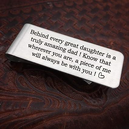 Clip de dinero para papá, detrás de cada gran hija es un ...