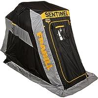 Frabill Sentinel 1100 Flip-Over Front Door with Jump Seat, 640310, Grey/Black