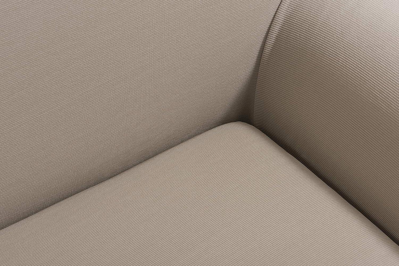 - Fauteuil Tural Disponible en Plusieurs Dimensions 70-100 cm 1 Place Ajustement /élastique Housse pour Canap/é bi-/Élastique Couleur Beige Mileto