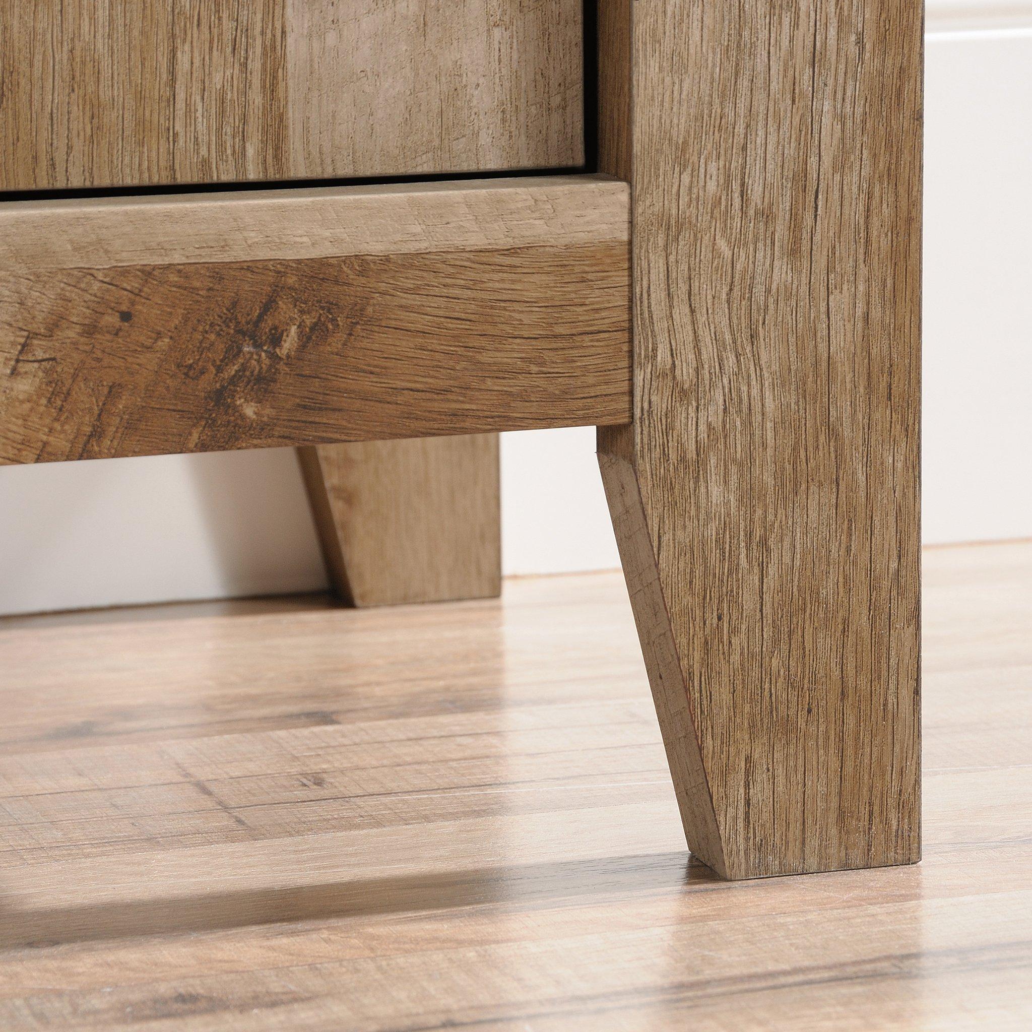 Sauder 420409 Dakota Pass Library with Doors, L: 33.82'' x W: 12.52'' x H: 71.10'', Craftsman Oak Finish by Sauder (Image #6)