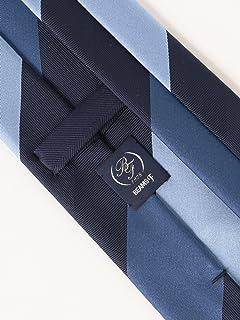 Silk Stripe Tie 21-44-6003-380: Blue