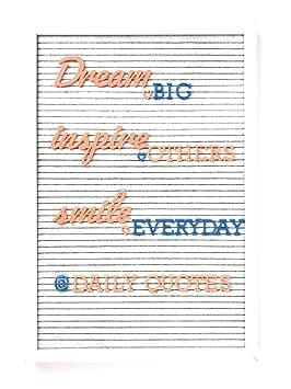 Coral y azul Premium de color Máquina de escribir y cepillo MT cursiva letras para una