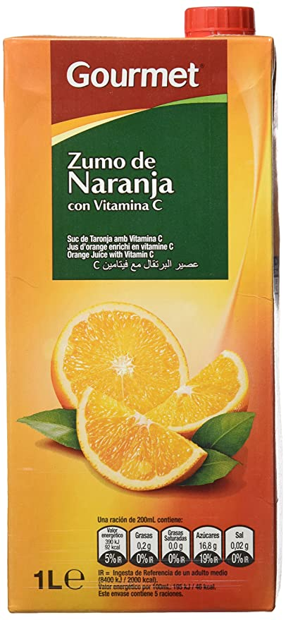 Gourmet Zumo de Naranja - 1000 ml