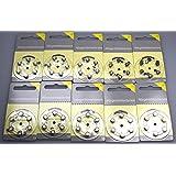 6 X Knopfzelle Zink-luft Panasonic Pr10 Pr536 Pr230l Hörgeräte-zellen Blister Alltagshilfen