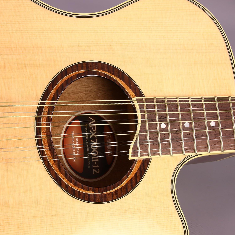Yamaha apx700ii-12 guitarra electroacústica, 12 cuerdas, con Legado accesorio Bundle, muchas opciones: Amazon.es: Instrumentos musicales