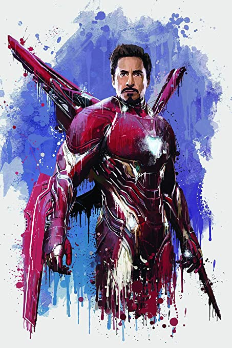 Buy galaxy wooden art gellery Iron Man Avengers Infinity War