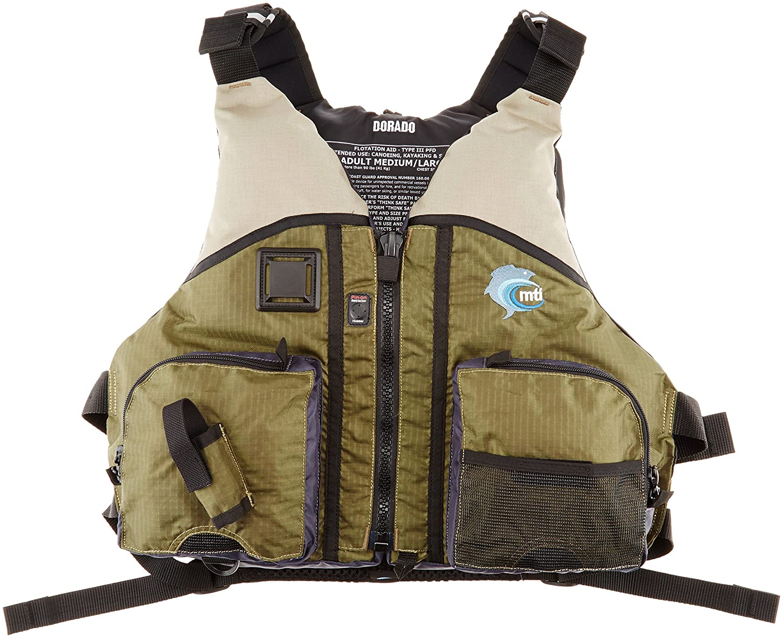 MTI(エムティーアイ) ライフジャケット ドラド MTI-806B オリーブ XS/S   B006WQ9OSK
