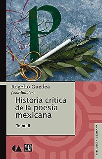 Historia crítica de la poesía mexicana. Tomo II