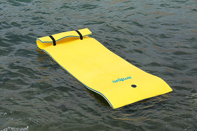 Colchón Flotador esquí RÁPIDO Individual 260 cm x 90cm x 3,5cm para MAR BÁLTICO PISCINA: Amazon.es: Deportes y aire libre