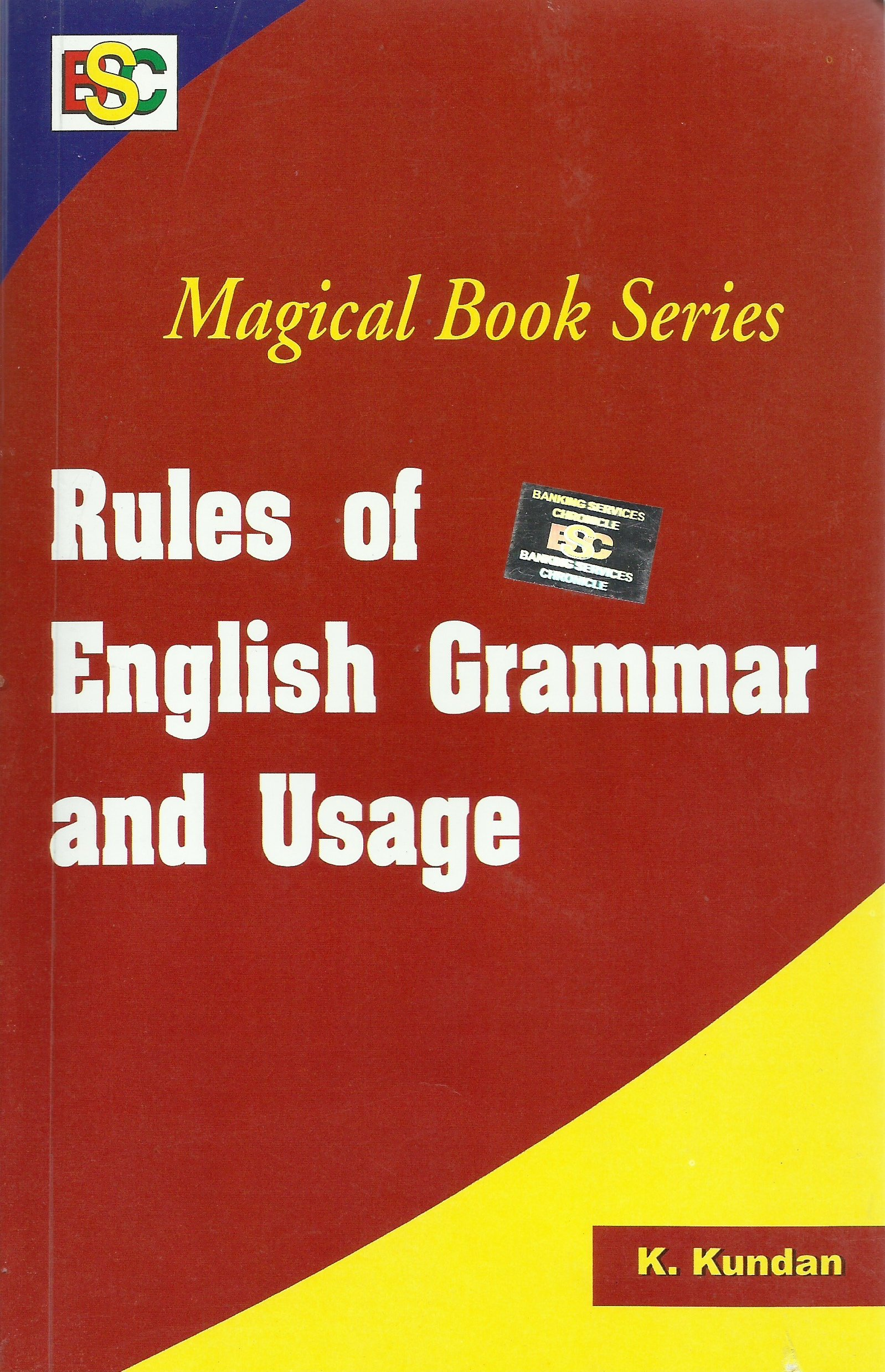 K Kundan English Book