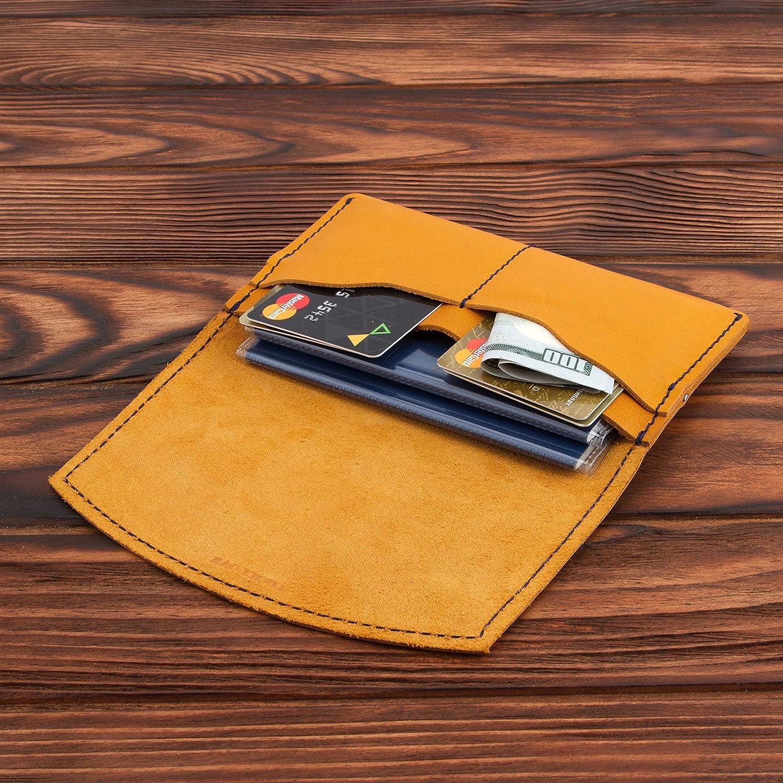 Leather Passport Holder – Multiple Passport Travel Organizer - Wallet Cover Case