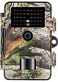 MINOX DTC 550 Wild- und Überwachungskamera Camouflage, Wetterbeständige 12MP Trail Camera - tagsüber mit Full-HD Videoaufnahmen bis 3 Min. Länge, Inkl. Display-Bildwiedergabe & Zeitschaltfunktion