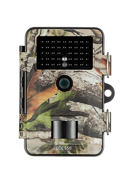 MINOX DTC 550 Wild- und Überwachungskamera Camouflage – Wetterbeständige 12MP Trail Camera - tagsüber mit Full-HD Videoaufnah