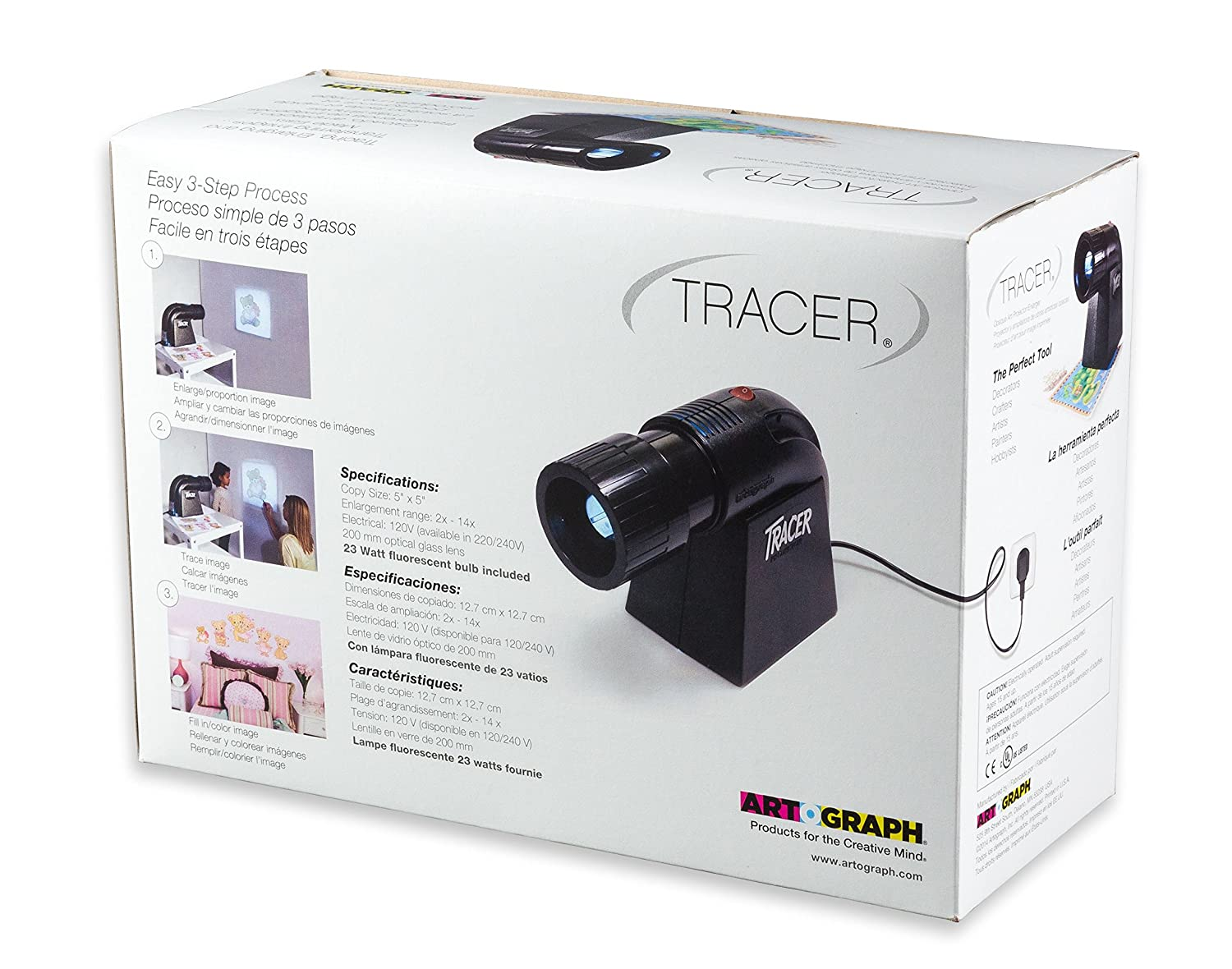 amazon com artograph tracer projector and enlarger arts crafts