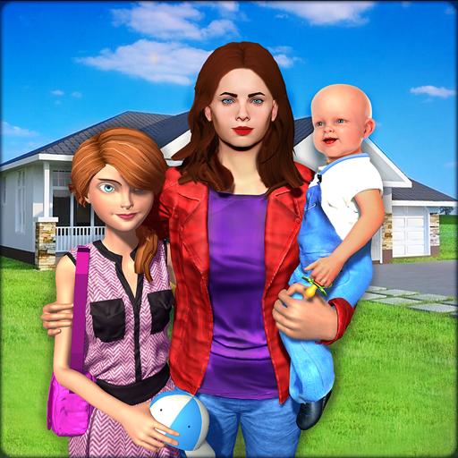 Virtual Family New Baby Single Mom Adventure (Best Virtual Baby App)
