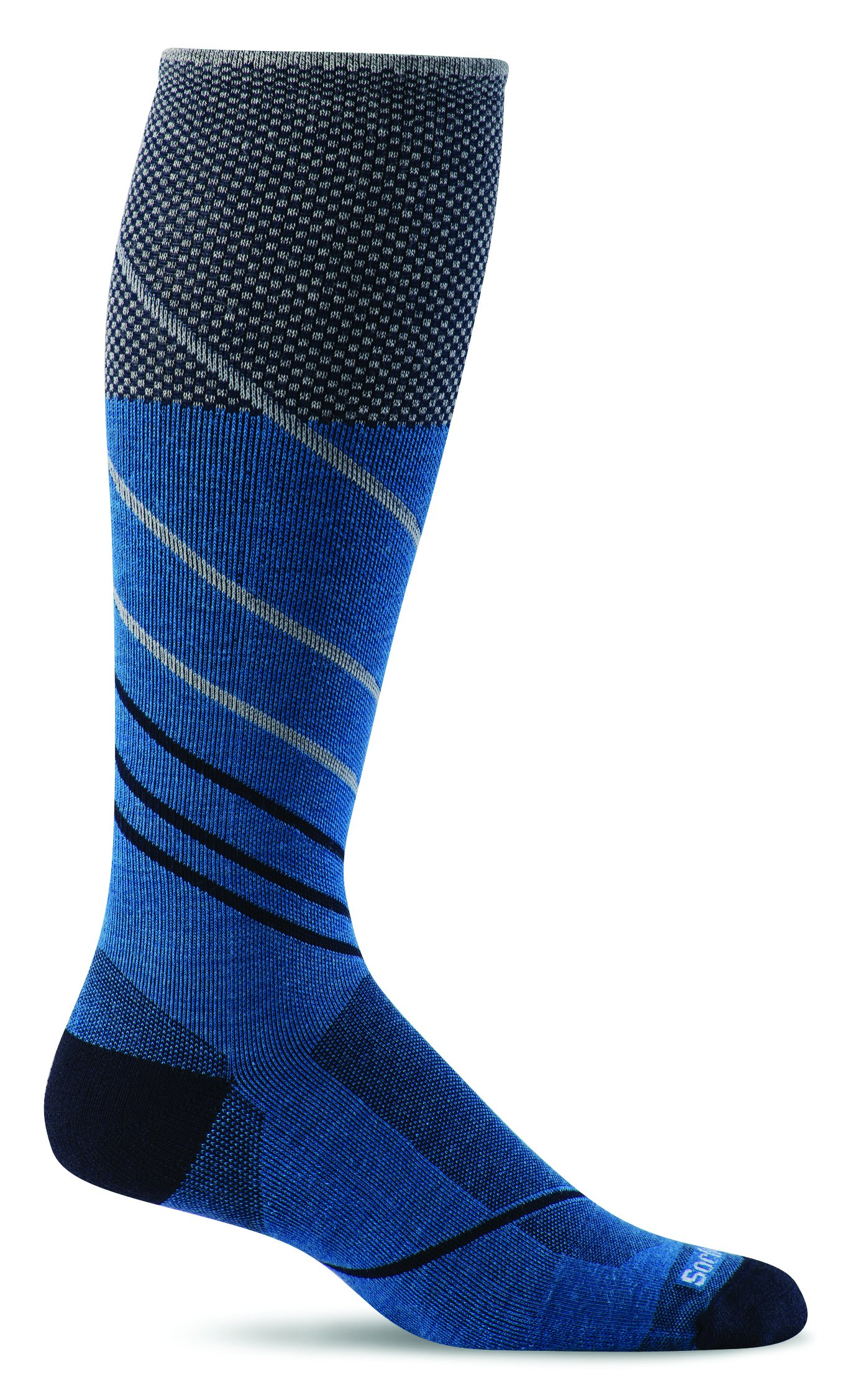 Sockwell Men's Pulse Firm Graduated Compression Socks, Ocean, Medium/Large by Sockwell